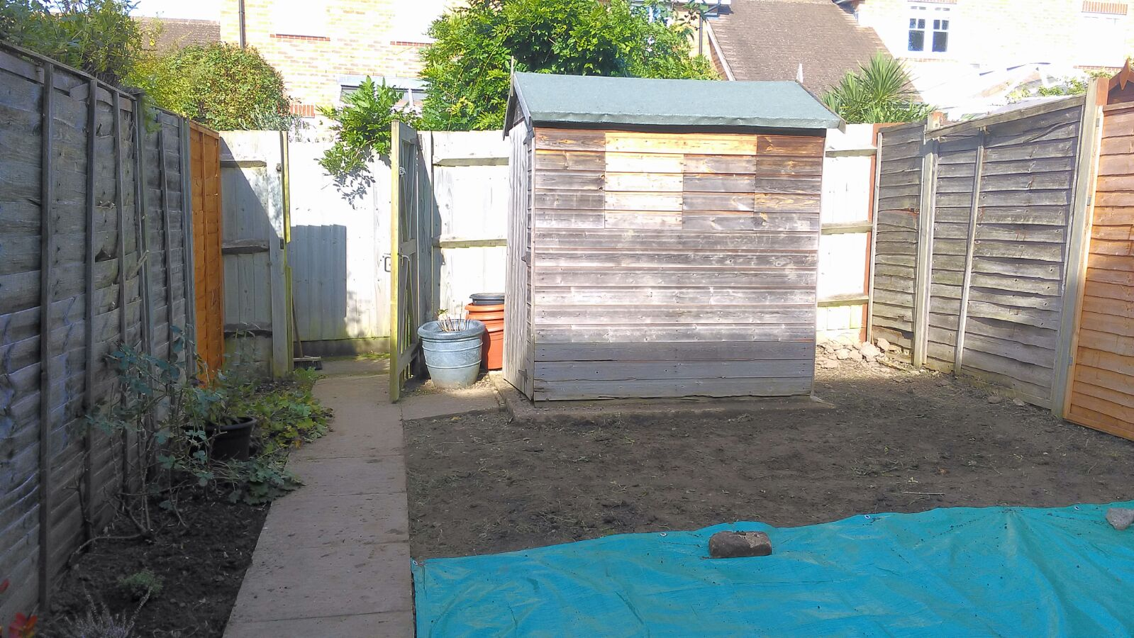 AFTER soil removal Liphook