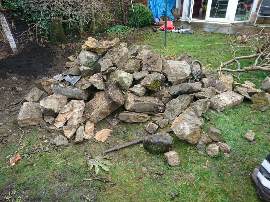 rubble collection haslemere